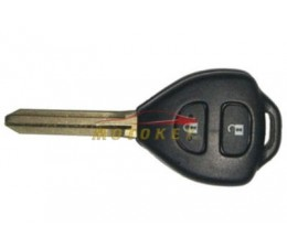 Toyota Yaris 2 Button Key Case