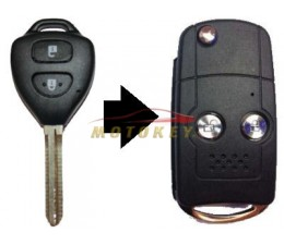 Toyota Yaris 2 Button Flip...