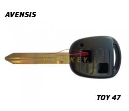 Toyota Avensis 2 Button Key...
