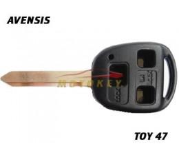 Toyota Avensis 3 Button Key...