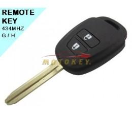 Toyota 2 Button Remote Key...