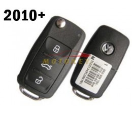 VW 3 Button Flip Key Case MK6