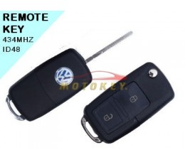 VW KOMBI 2 Button Remote Key
