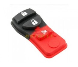 Nissan Remote Rubber 3 Button
