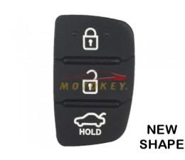 Hyundai 3 Button Remote Rubber