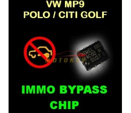 VW MP9 Immo Bypass Chip - DIY