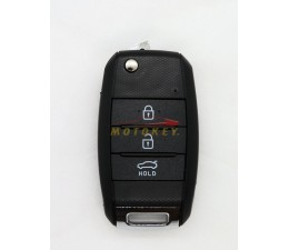 Kia 3 Button Remote Key Case