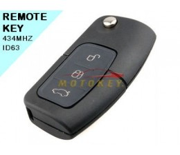 Ford Focus 3 Button Remote Key