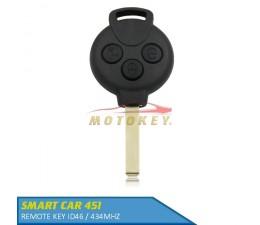 Smart Car 451 - 3 Button...