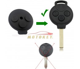 Smart Fortwo 451 - 3 Button...