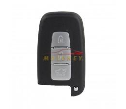 3 Button Smart Key Case Front