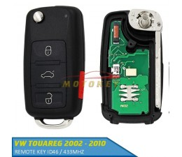 VW Touareg Remote Key - 433Mhz