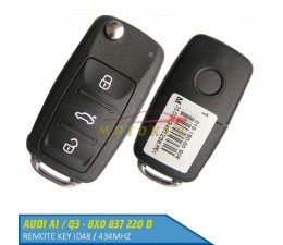 Audi A1 / Q3 Remote Key 8X0...