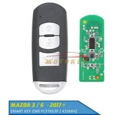 Mazda 2 / 3 / 6 Smart key...