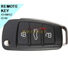 Audi Q3 - 3 Button Remote Key