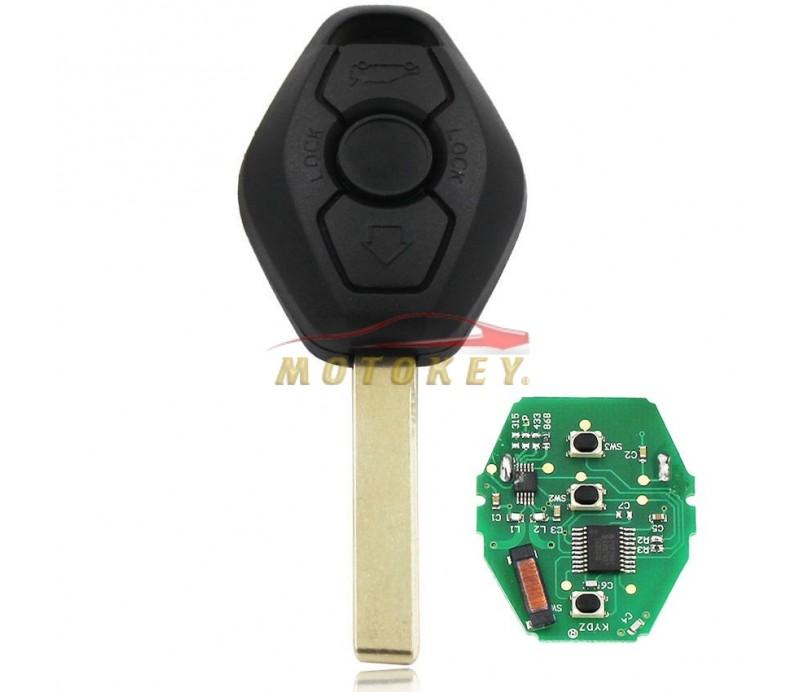 BMW Diamond Key with Remote and Transponder
