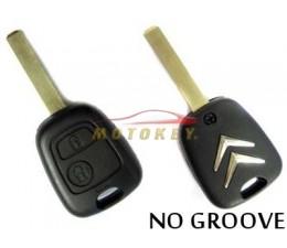 Citroen 2 Button Key Case