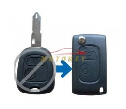 Citroen 2 Button Flip Key...