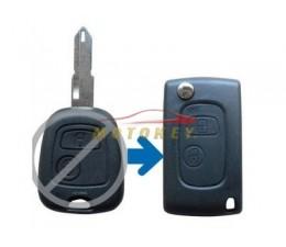 Citroen 2 Button Flip Key...