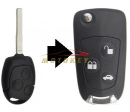 Ford Focus 3B Flip Key...