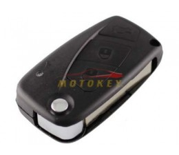 Fiat 3 Button Flip Key Case