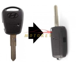 Hyundai 1 Button Flip Key...