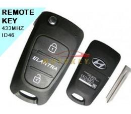 Hyundai Elantra 2 Button...
