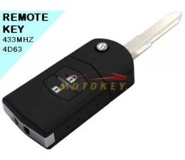 Mazda 2 - 2 Button Remote Key
