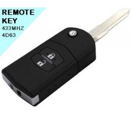 Mazda 3 - 2 Button Remote Key