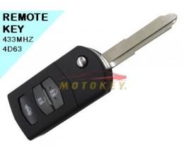Mazda 5 - 2 Button Remote Key