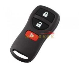 Nissan 3 Button Remote Case
