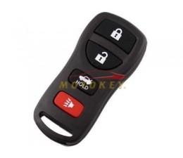 Nissan 4 Button Remote Case