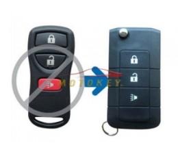 Nissan 3 button Flip Key...