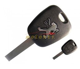 Peugeot 2 Button Key Case