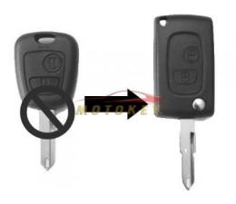 Peugeot 2 Button Flip Key...