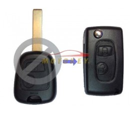 Peugeot 2 Button Flip Key...